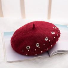 日系帽优雅贝雷帽摄影图14
