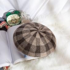 女士日系帽优雅贝雷帽29