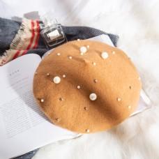 日系帽优雅贝雷帽摄影图33