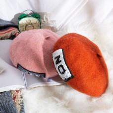 女士日系帽优雅贝雷帽16