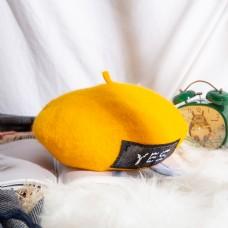 女士日系帽优雅贝雷帽8