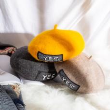 女士日系帽优雅贝雷帽5