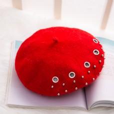 日系帽优雅贝雷帽摄影图11