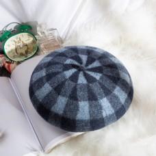 女士日系帽优雅贝雷帽27