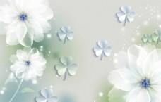 梦幻花朵幸运草