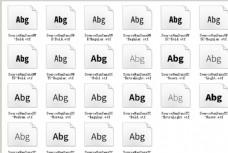 思源黑体 2.0全套字体包22