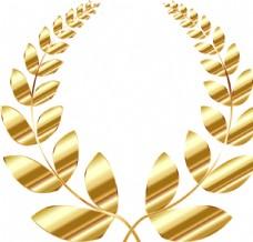 金色麦穗花纹