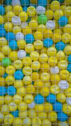 彩色小球商业摄影