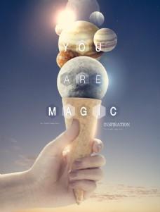 地球 星球 海报