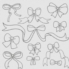 卡通蝴蝶结