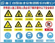 进入施工现场人员了解安全标识