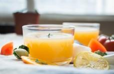 柳橙凤梨汁 橙汁 果汁