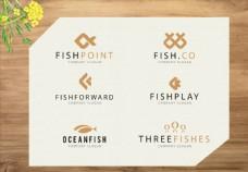 可爱鱼标志