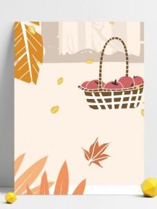 秋天收获的季节背景