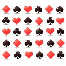 扑克牌背景