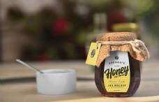 玻璃瓶蜂蜜样机