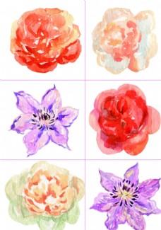 054手绘花朵