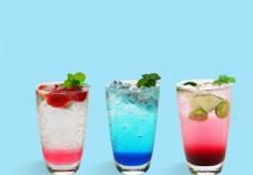 水果汽泡饮品