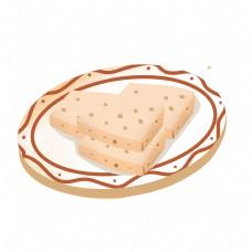 鱼糕卡通png素材