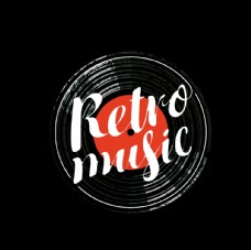 黑胶产品音乐元素