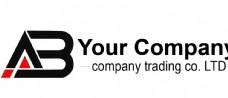 AB logo企业标志设计