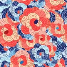 抽象艺术无缝纹理