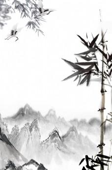 新中式背景