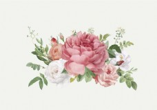 花卉设计婚礼邀请函