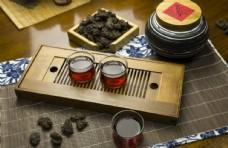 普洱茶茶叶茶汤