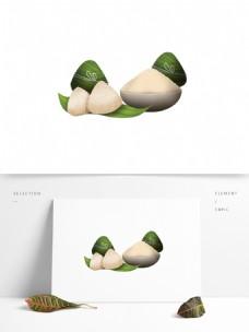 端午节美味粽子元素设计