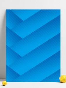 蓝色大气健身运动广告背景