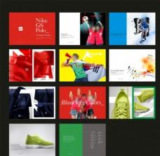 运动时尚画册
