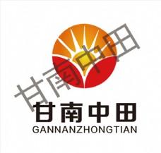 甘南中田标志