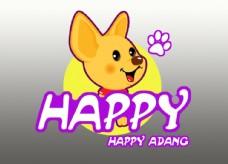 卡通 logo  动物 标志
