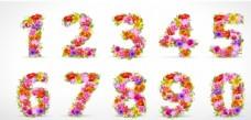 花型数字矢量