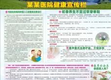 医院男妇科健康宣传览