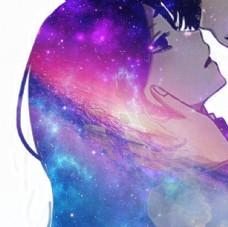 星空 背景图 JPG 卡通