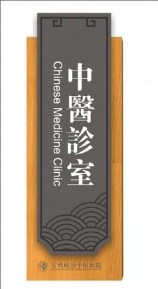 中医馆门牌