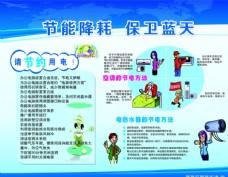 节约用电 健康教育 宣传栏