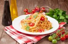 西红柿意大利面