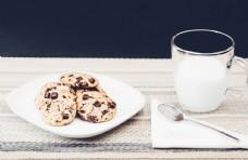 牛奶与早餐