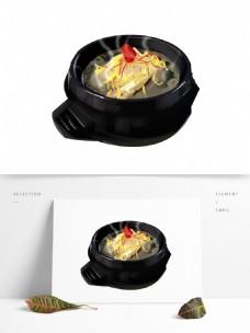手绘美味美食菜品元素