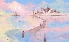 魔幻城堡水上公路