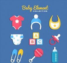 10款彩色婴儿用品
