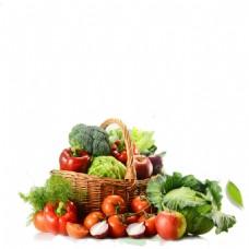 厨房蔬菜小清新背景素材