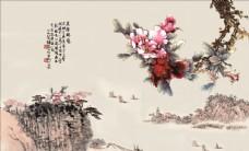 高清壁画背景墙