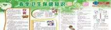 春季卫生保健知识宣传栏