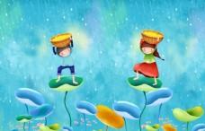 卡通梦幻流星雨