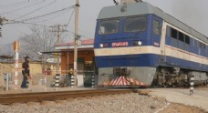 乡村火车运输道