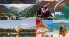 AE素材 视频模板